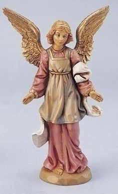 2 Fontanini Standing Angel - 5'' Collection by Gordon Companies, Inc. $69.00. Picture may wrongfully represent. Please read title and description thoroughly.. Brand Name: Gordon Companies, Inc Mfg#: 30750147. Shipping Weight: 2.00 lbs. This product may be prohibited inbound shipment to your destination.. Please refer to SKU# ATR25785995 when you inquire.. 2 Fontanini Standing Angel - 5'' Collection/comes individually boxed/5.5''H x 3.25''W /virtually unbreakable,child-friendly po...