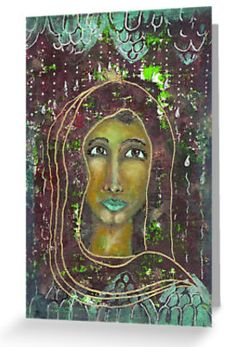 Sarah ~ Laptop cases and skins available here: Divine Feminine, Iphone Cases, Laptop Cases, Spirituality, Greeting Cards, Painting, People, Art, Painting Art