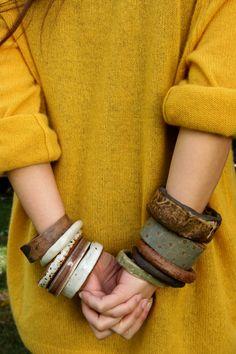 mietteshoppe: Love the bracelets!    juju made