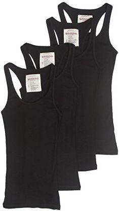 4 Pack Zenana Women's Ribbed Tank Top Large Black, Black, Black, Black Zenana Outfitters http://www.amazon.com/dp/B00K36ELCY/ref=cm_sw_r_pi_dp_hRYawb111GQYC