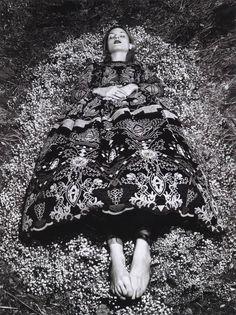 Maria Loks by Matthias Vriens-McGrath - Valentino s/s 2014 #BW #fashion Photography #editorials