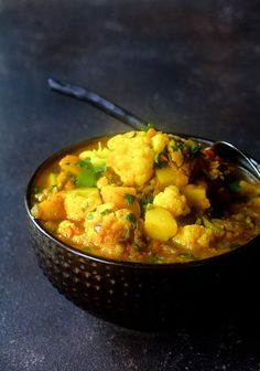Celebrate the lentil with Cauliflower Red Lentil and Potato Curry!