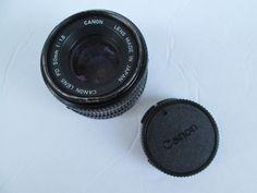 canon camera lens fd 50mm 1 18