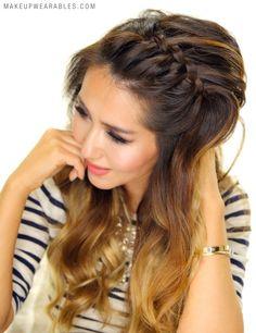 Easy Braided Headband Hairstyles - hair tutorial