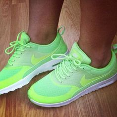 9bf67df65a6f womens fashion style womens fashion style Neon green nike shoes♥ Cheap  Sneakers are Cheapest for sale spring 2014