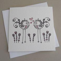 Valentine card by Little Black Heart