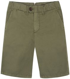 Shop The Hartford Boys Bobby Shorts In Green At Elias & Grace. Browse The Cutest Boys Clothes From Hartford, Handpicked By Elias & Grace