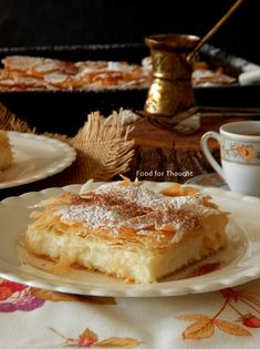 Food for thought Food For Thought, Tiramisu, Brunch, Sweets, Thoughts, Breakfast, Cake, Ethnic Recipes, Kitchens