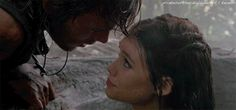 """Astrid Berges-Frisbey as Syrena and Sam Claflin as Philip Swift in """"Pirates of the Caribbean: On Stranger Tides"""" Mermaid Cove, Mermaid Lagoon, Mermaid Art, Love Romance Kiss, Astrid Berges Frisbey, Professional Mermaid, On Stranger Tides, Mermaid Kisses, Spanish Actress"""