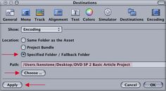 Authoring with DVD Studio Pro 2 - Basic Mode