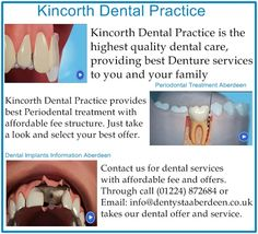 Kincorth Dental Practice is the highest quality dental care, providing best Denture services to you and your family. We provide the best opportunity to meet with our friendly dental team in the first visit.