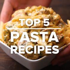 Top 5 Pasta Recipes #pastafoodrecipes