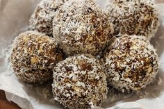 Sometimes choosing the right snack can be hard. That's why I started making protein balls every Sunday to keep on hand for the week so I can snack wisely.