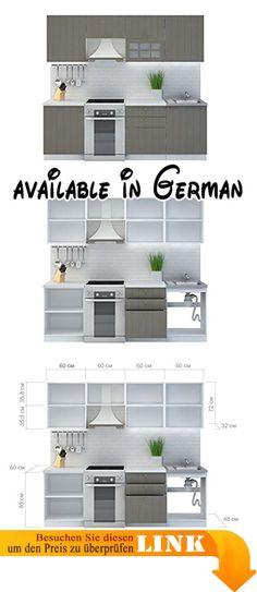 B071Y5M1FM  Held Möbel 63216198 Rom Küche Holzwerkstoff matt - unterschrank küche 60 cm