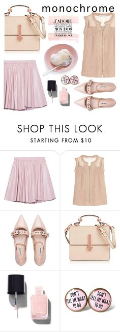 """ice cream on pink"" by nataskaz ❤ liked on Polyvore featuring 2NDDAY, Chelsea Flower, Miu Miu, Kendall + Kylie and Chanel"