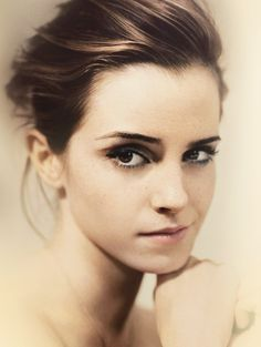 Emma Watson (someone had her name as Emma Stone...for shame...)
