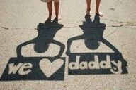Clever Father's Day photo idea