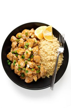 Ginger Honey Lemon Chicken