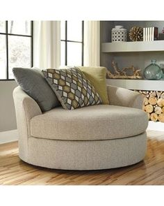 Benchcraft Casheral Oversized Swivel Accent Chair