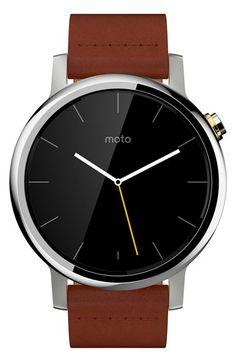 Motorola 'Moto 360 2nd Gen' Smart Watch, 42mm available at #Nordstrom