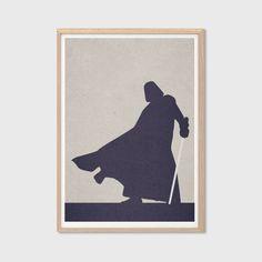 Darth Vader Poster  Modern Star Wars Movie by SealDesignStudio, $18.00