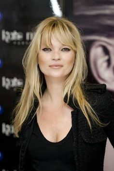 Hair and Fringes: Kate Moss Style