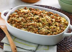 Dirty Rice made with Johnsonville Italian Sausage - for the Mardi Gras party at work! Cajun Recipes, Sausage Recipes, Rice Recipes, Pork Recipes, Cooking Recipes, Cooking Ideas, Food Ideas, Recipies, Dinner Recipes