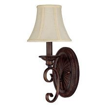 View the Capital Lighting 1842-434 Hammond 1 Light Wall Sconce with Fabric Shade at LightingDirect.com.