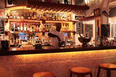 The Waterfront Cafe in Bridgetown Bridgetown, Cafe Style, Barbados, Restaurant Bar, Liquor Cabinet, Restaurants, Storage, Furniture, Home Decor