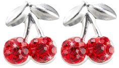 Bijou Brigitte Stud earrings - Cherry