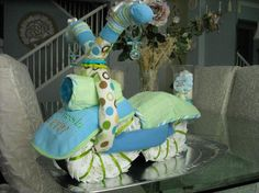 Diaper Cake Instructions | MOTORCYCLE DIAPER CAKE by Anna Douglas | Other Ideas