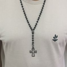 terço masculino colar necklace mensnecklace mens cocar brasil moda masculina acessorios
