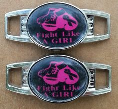 2 Awareness Paracord Oval Shoe Lace Charms Custom water resistant Sports