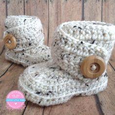Baby Booties Crochet Baby Booties Crochet by CutestlittleThing