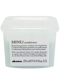 This Davines conditioner helps preserve rich, glossy hair color for weeks (and weeks) after you leave the salon.... Natural Shampoo And Conditioner, All Things Beauty, Good Things, Glossy Hair, Hair Products, Makeup Products, 5 W, Hair Heaven, Makeup Brands