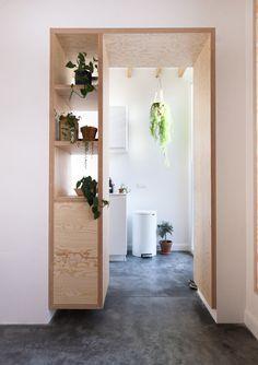 Kitchen Interior, Home Interior Design, Interior Architecture, Kitchen Design, Decoration Inspiration, Interior Inspiration, Home And Living, Diy Bedroom Decor, Small Spaces