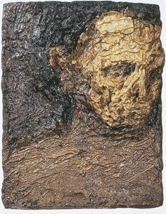 The Dainty Blunder: kossof and the like Frank Auerbach, Painting People, Figure Painting, Digital Portrait, Portrait Art, Leon Kossoff, Dark Artwork, Academic Art, Sad Art
