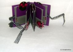 Pink and Purple Five Paged Mini Album for a Christmas present