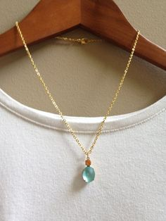 Items similar to Vintage Stone Pendant Necklace - Frosted Topaz & Frosted Aquamarine - Oval - Gold on Etsy Stone Pendants, Frost, Topaz, Handmade Items, Lily, Pendant Necklace, Gemstones, Jewels, Detail