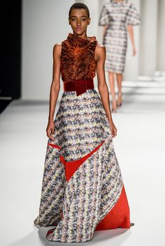Carolina Herrera Fall 2014 - NYFW - Fashion Runway