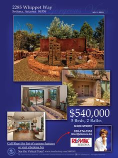 OPEN HOUSE - Thursday 9:30 - 11:30 AMRealtor Open House on Thursday October 8th from 9:30 to 11:30 AM.   A drawing will be held for a gift certificate- for Realtors! Come see this fabulous home. #Remax, #sedona, #sedonahomesforsale, #realtor, #viewproperty, #WestSedona #capitalButte,