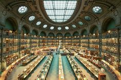 Bibliothèque Nationale De France, Paris, France from the 27 Most Incredible Libraries in the World - BlazePress
