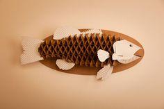 Wayne The Brass by Cardboard Safari - Cardboard Animal Trophie