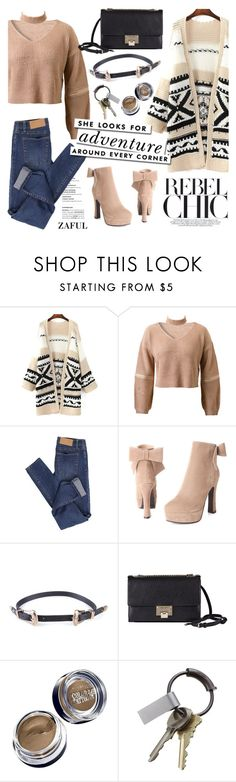 """""""Rebel chic!"""" by helenevlacho ❤ liked on Polyvore featuring Cheap Monday, Jimmy Choo, Kate Spade, Maybelline, CB2 and zaful"""