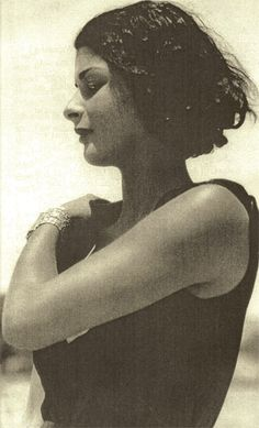 Maria de Naglowska (1883-1936) was a Russian occultist, mystic, author and journalist who wrote and taught about sexual magical ritual practices while also being linked with the parisian surrealist movement.  http://www.amazon.com/Light-Sex-Initiation-Magic-Sacrament-ebook/dp/B004X6WMWG/ref=sr_1_4?s=books&ie=UTF8&qid=1449823740&sr=1-4&keywords=maria+de+naglowska