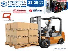 """¿Desea mejorar su cadena de suministro y aprovechar las oportunidades que ofrece el nuevo entorno de negocios? Q SOLUTIONS le invita a asistir los días 23, 24 y 25 de Junio del 2015 a la expo """"Logistics & Supply Chain"""" que se llevará a cabo en las instalaciones de Centro Banamex de las 13:00 a las 20:00 horas. Para mayor información le invitamos a entrar al siguiente link: http://logisticsandsupplychainexpo.com/front_content.php"""