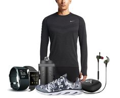 Men's Winter Day Running Outfit and The Best Wireless Earphone   Royal Fashionist