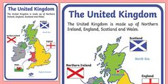 The United Kingdom Display Poster