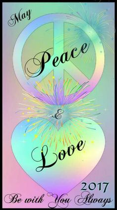 Peace And Love ✌❤