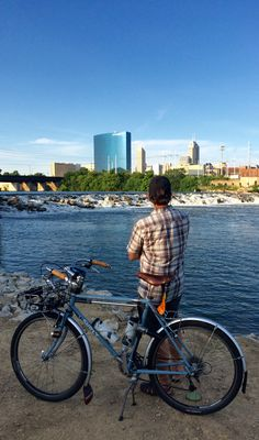 My city. I love cycling here.